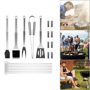 Home BBQ Grill Tool Set Stainless Steel  Grill Accessories Barbecue Kit Portable