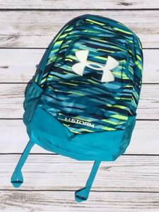 NWT Under Armour Scrimmage Backpack Storm Venetian Blue Deceit Boys Girls NEW $39.99