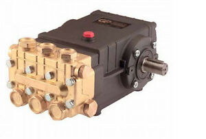 PRESSURE WASHER PUMP - GP HP8040 - 8 GPM - 4000 PSI - 24mm Shaft  1840 RPM