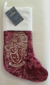 Pottery Barn Teen Harry Potter GRYFFINDOR Christmas Stocking No Monogram NEW