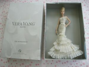 2008 Barbie The Romanticist Vera Wang Platinum Label Blonde Hair #L9664 New