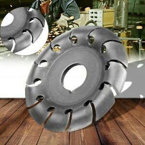 Electric Angle Grinder Shaping Blade Wood Woodworking Carving Disc Cutting Tool