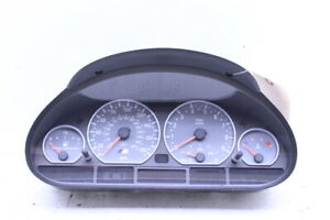 2001-2006 BMW M3 E46 Speedometer Cluster 62117834420