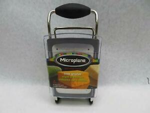 Microplane 4 Sided Box Grater Zester Slicer Stainless Steel
