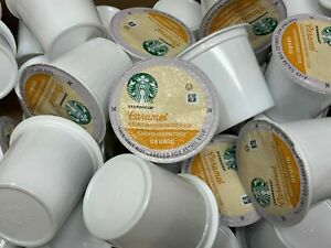 Starbucks Coffee Caramel Flavored Keurig K-Cups Pods Medium Roast 60 Count 3/20