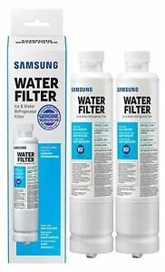 2 Pack Samsung DA29-00020B HAF-CIN/EXP Refrigerator Fresh Water Filter Cartridge