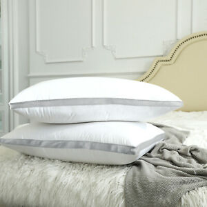 Pack of 4 Throw Pillows Insert Bed and Couch Pillows Pillows Inner White