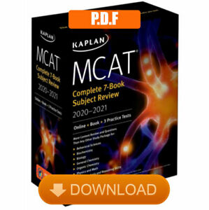 MCAT Complete Set 7 book Subject Review 2020 2021 🔥 P.D.F 🔥