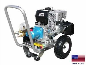 PRESSURE WASHER Portable - Cold Water - 2.5 GPM - 3300 PSI - 5.5 Hp Honda  PCATI