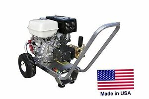 PRESSURE WASHER Portable - Cold Water - 4 GPM - 4200 PSI - 13 Hp Honda Eng  HP