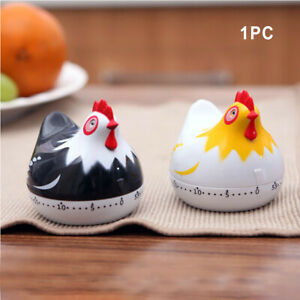 Student Study Cooking Tools Countdown Alarm Kitchen Timer Baking Chicken Shape