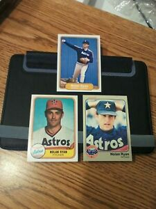1981, 1982 and 1983 Fleer Nolan Ryan lot NM low shipping