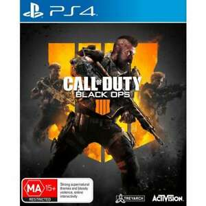 PS4 Call of Duty Black Ops 4 Playstation 4 PS4 Brand New Free Shipping