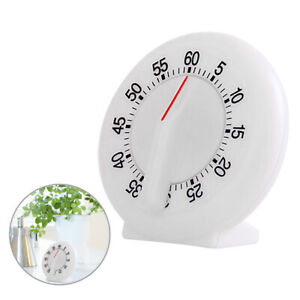 60 Minutes Mini Kitchen Timer Round Shaped Cooking Timer Mechanical Alarm