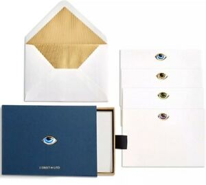 L'Objet Lito Stationery Box (Set of 12) New Open Damaged Box