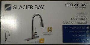Glacier Bay Nottely Touchless Pull-Down Kitchen Faucet HD67495-1008D2