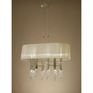Suspended Lights Modern Design Crystal With Shades Man tiffany-3873