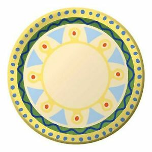 Mediterranean Pottery 7 Inch Paper Plates 8 Pack