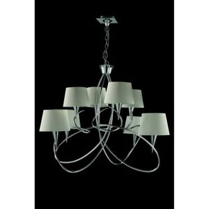 Suspended Lights Modern Design Chrome With Shades Man mara-1654
