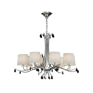 Suspended Lights Modern Chrome Design Shades 8 Lights Man andrea-6312