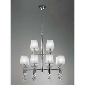 Suspended Lights Modern Design Crystal Shades Man tiffany-3850