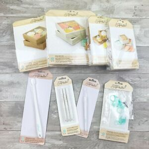 NEW Sweet Sugarbelle Cookie Spatula Template Food Safe Marker Pick Icing Bag Box
