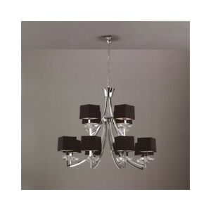Suspended Lights Modern Design Crystal Shades Man akira-0792