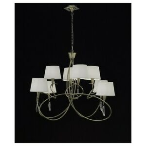 Suspended Lights Modern Design Brass Lamp Shades Crystal Man mara-1634