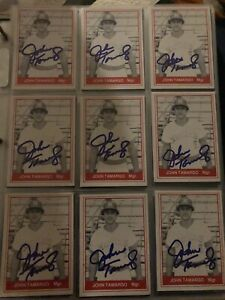 1982 TCMA Card John Tamargo Signed Lot Florida State