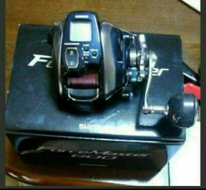 SHIMANO ForceMaster600 Electric Very Good Boxed+manualcodeEPX 8 line No.2 300m