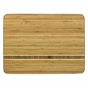 Totally Bamboo Martinique Bamboo Serving and Cutting Board 15