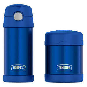 NEW Thermos FUNtainer Bottle and Food Jar Lunch Set Select Color *FREE SHIPPING*
