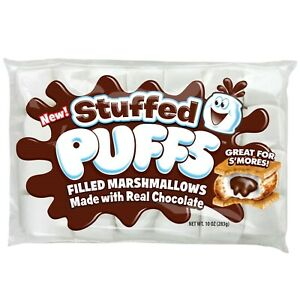 Stuffed Puffs Chocolate Filled Marshmallows S'mores Camping New Party Campfire