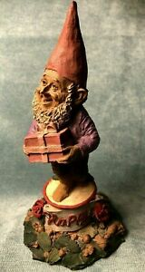 Tom Clark Gnome 1984 HAPPY Birthday Party Hobbit RETIRED Cairn Studio EUC