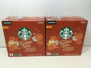 Starbucks Pumpkin Spice Coffee K-Cups for Keurig , Limited Edition, 64 Ct, 2020