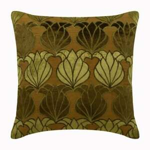 White Couch Throw Pillow Luxury 16quot;x16quot; Silk Lotus Green Lotus $31.96