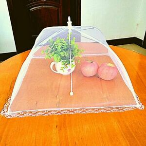 Cover Food Anti Net Umbrella Mesh Fly Folding Cake Tent Outdoor Camp Flies Dome