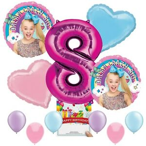 Jojo Siwa Party Supplies Balloon Decoration Bundle for 8th Birthday $16.99