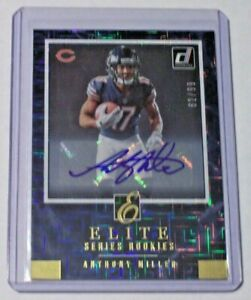 2018 Donruss The Elite Series Rookies Autograph Anthony Miller 99 Bears Memphis