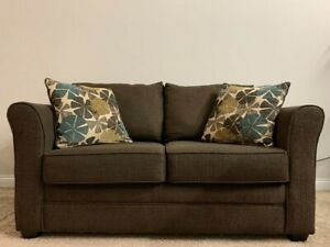 Used Ashley Furniture Sofa and Loveseat for Living Room Brown Good Condition $500.00