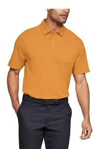 NEW Mens UNDER ARMOUR XL Polo Shirt Charged Cotton Performance Golf Polo $30.88