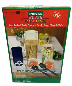 Pasta Quick Deluxe Pasta Cooker As Seen On TV NEW
