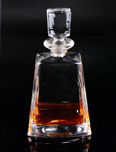 Crystal Decanter Lead Free Wine Liquor Bottle with Stopper for Whiskey Vodka