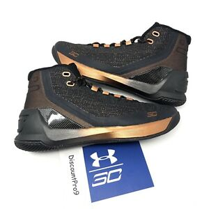 Under Armour UA Curry 3 ASW Brass Copper Basketball Shoes Men's Size 10.5 NWB $100.00