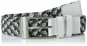 Under Armour Accessories Mens Braided Golf Belt, White 100 Steel $37.66
