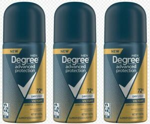 Degree Dry Spray Antiperspirant Deodorant 72 Hour Advanced Protection - 3packs $9.99