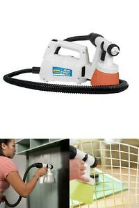 Stationary Sprayer Paint Stain Sealer Home Decor HVLP Clean Even Spray Time Save