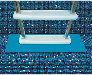 Pool Ladder Mat And Pool Step Pad Eliminates Scratching 9 X 30-Inch Protective