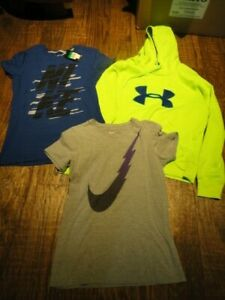 Under Armour Womens Hoodie Sweatshirt Size Large Cold Gear Pockets $26.00