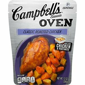 Campbell's Oven Sauces Classic Roasted Chicken 12 Ounce Pack of 6